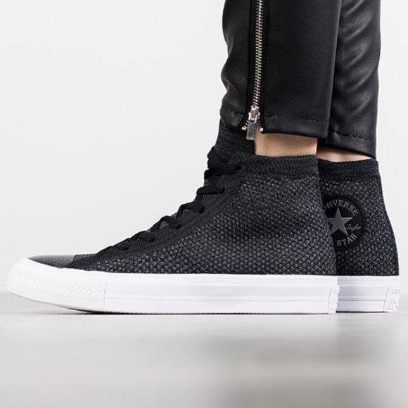 differently 833b2 18a7d Chuck Taylor All Star X Nike Flyknit